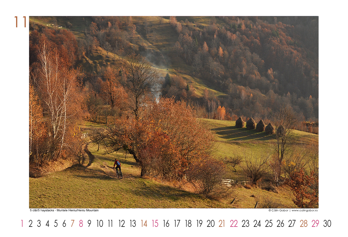 Calendar 2020 Mountain biking & winter sports