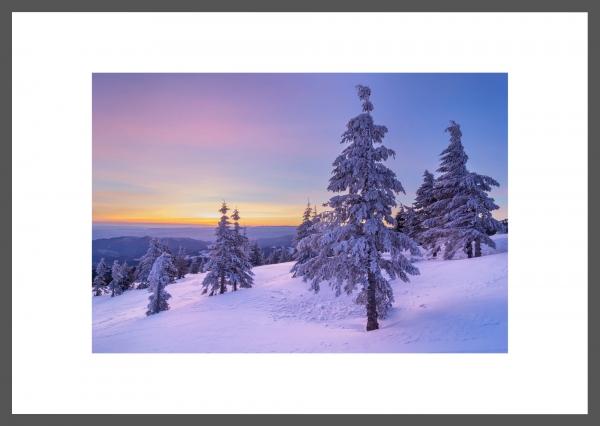 7 A.M. - tablou 60x40, rama lemn , protectie sticla