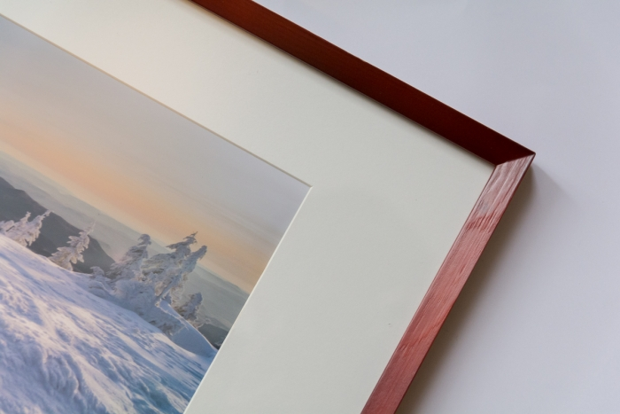 Valuri inghetate - tablou 60 x 40 cm